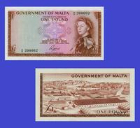 MALTA 1 Pound 1949 Queen Elizabeth II - Copy- Replica - REPRODUCTIONS - Malte