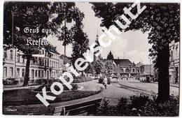 Leporello - Gruß Aus Krefeld 1954 (z4007) - Krefeld
