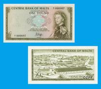 MALTA Malta 1 Pound 1967 Queen Elizabeth II - Copy- Replica - REPRODUCTIONS - Malta