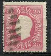 Portugal 1870 25r King Luiz Issue #41 - Used Stamps