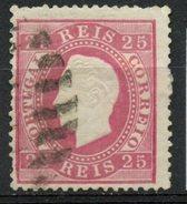 Portugal 1870 25r King Luiz Issue #41 - 1862-1884 : D.Luiz I