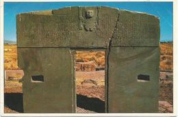V652 Bolivia - Provincia Ingavi - Cultura Tiwanacota - Puerta Del Sol / Non Viaggiata - Bolivia