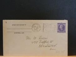 65/785   LETTRE CANADA 1953