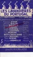 PARTITION MUSICALE- LAVANDIERES DU PORTUGAL-LAVANDIERE- ROGER LUCCHESI-ANDRE POPP- YVETTE HORNER-SUZY DELAIR-BEUSCHER - Partitions Musicales Anciennes