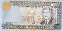 TURKMENISTAN   10,000 Manat   1998   P. 11   UNC - Turkménistan