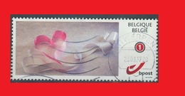 Belgium Coeur Heart Herz Corazon Cuore Love Amour  Liebe Amar Valentin - Timbres