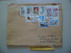 Lettre Recommandée R3 Sans AR Arras 23/2/2004 Avec  N° 1125;  2566; 2567; 2585; 2699;2826; 2827; 3032; 3114 Et  3343  TB - Lettres & Documents