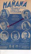PARTITION MUSICALE- MANANA- DAVE BARBOUR-PEGGY LEE-JACQUES PLANTE-ROSE MANIA-JACQUES HELIAN-JO PRIVAT-DORIS MARNIER-1949 - Partitions Musicales Anciennes