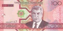 TURKMENISTAN   100 Manat   2005   P. 18   UNC - Turkmenistan
