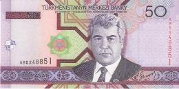 TURKMENISTAN   50 Manat   2005   P. 17   UNC - Turkmenistan