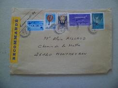 Lettre Recommandée R3 Sans AR Rouen Le 4/8/2007  à Montmeyran Les N°1342; 2673;2931 Et Poste Aérienne N° 45 Et 59    TB - Lettres & Documents