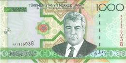 TURKMENISTAN   1000 Manat   2005   P. 20   UNC - Turkmenistan