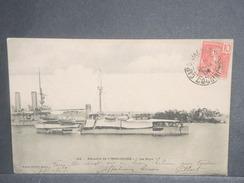 FRANCE / INDOCHINE - Oblitération De Cap Saint Jacques En 1909 Sur Carte Postale Pour La France - L 7065 - Indochine (1889-1945)