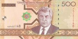 TURKMENISTAN   500 Manat   2005   P. 19   UNC - Turkmenistan