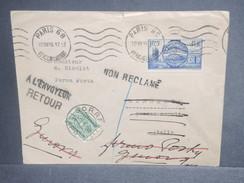ITALIE - Taxe De Sorrento Sur Enveloppe De France En 1938 - L 7066 - Portomarken