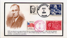 USA - PRESIDENT FRANKLIN DELANO ROOSEVELT - Celebrità