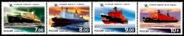 Russia - 2009 - Atomic Fleet Of Russia - Mint Stamp Set - 1992-.... Federation