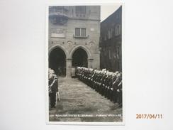 Postcard Repubblica Di S Marino Parata Militare RPPC By Savoretti My Ref B11080 - San Marino