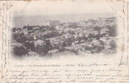 ARCACHON - GIRONDE - (30)  - CPA PRÉCURSEUR DE 1901  - BEL AFFRANCHISSEMENT POSTAL. - Arcachon
