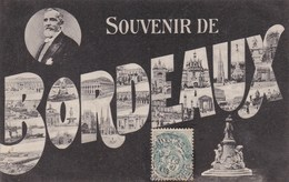 BORDEAUX - GIRONDE - (30)  - CPA ORIGINALE DE 1906. - Bordeaux