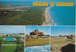 TOSCANA - MARINA DI BIBBONA - VARIE VEDUTE - EDIZ. BONACCORSI - VIAGGIATA 1998 - Italia