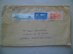 Lettre Recommandée R3 Sans AR  Rouen Le 26/9/2005  à Montmeyran Le 30/09  Les N° 2923 Et Poste Aérienne N° 57 Et 58   TB - Lettres & Documents