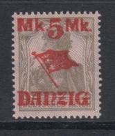 (05139) Danzig 45 II Postfrisch Geprüft - Dantzig