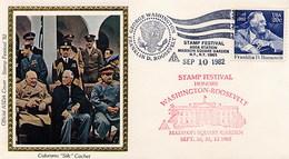 USA -  PRESIDENT  ROOSEVELT -  MADISON SQUARE GARDEN - WASHINGTON WHITE HOUSE - Celebrità
