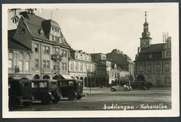 Hohenelbe, 1941, Zentrum, Sudetengaus, Oldtimer, Vrchlabi, Trutnov, - Tchéquie