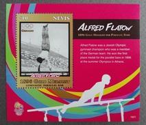 Nevis 2016** SS 1601. Gold Medalist Alfred Flatow MNH [154]