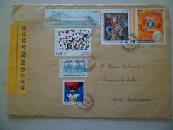 Lettre Recommandée R2 Sans AR  De Brive Le 10/11/2005 à Montmeyran  Les N°1806; 2923; 2986; 3039; 3254; Et 3258     TB - Lettres & Documents