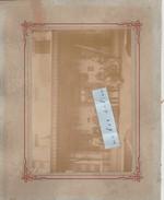 PONTCHARRA -SAINT FORGEUX - Gare - Photo 18 Cm X 12,5 Cm Sur Support Cartonné  20,2 Cm X 25,2 Cm ( Rare ) - Pontcharra-sur-Turdine