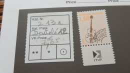 LOT 349191 TIMBRE DE FRANCE NEUF**  DENTELE 12 - Unclassified
