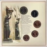 Official Millennium Coin Mint Set Of Bosnia And Herzegovina 2000.In Special Folder.RARE ! - Bosnia Erzegovina