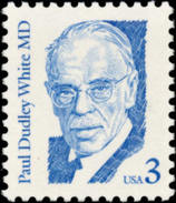 1986 USA Paul Dudley White Stamp Sc#2170 Famous Heart Disease Cardiology Medicine - Medicine