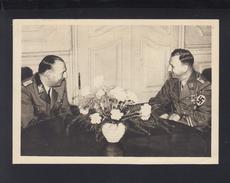 Dt. Reich AK Prag 1942 SS Oberstgruppenführer Daluege Und Stabschef Der SA Lutze - Politische Und Militärische Männer