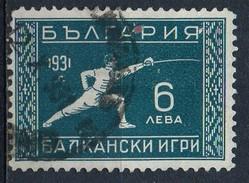 PIA - BULGARIA  : 1931 : Giochi Balcanici A Sofia - (Yv 227) - Scherma