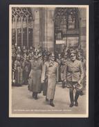 Dt. Reich AK Hitler In Strassburg Frankreich France - Historische Persönlichkeiten