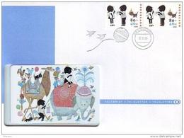 NEDERLAND * TELEBRIEF * CAMEL * ELEPHANT   Nr. 36 * CHIPCARD MINT ONGEBRUIKT  + POSTZEGELS STAMPS * JIP EN JANNEKE - Private