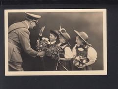 Dt. Reich AK Hitler Mit Sudeten Kindern - Personaggi Storici