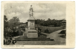 GLOSSOP PARK : WOOD'S MEMORIAL - Derbyshire