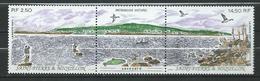 St.Pierre & Miquelon 1991 Natural Heritage.birds.fishing.strip Of 2.MNH - St.Pierre & Miquelon