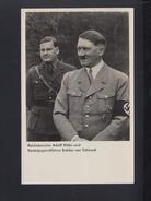 Dt. Reich AK Hitler Und  Baldur Von Schirach - Personnages Historiques