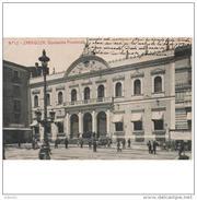 ZRGZTPA4313CPA-LFTM5595TAROT.Tarjeta Postal De ZARAGOZA.Edificios,personas En La PLAZA Y DIPUTACION PROVINCIAL.CCLD - Edificios & Arquitectura