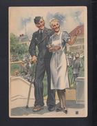 Dt. Reich Rotes Kreuz PK DRK-Schwester - Weltkrieg 1939-45