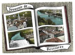 Carte Postale Années 80 Souvenir De Bessière Multi-vuess (31) - Autres Communes