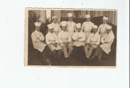 LIEGE (BELGIQUE) ? CARTE PHOTO AVEC CUISINIERS 1924 (PHOTO F CELIS LIEGE) - Luik