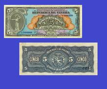 PANAMA  5 Balboa  1941 - Copy - Copy- Replica - REPRODUCTIONS - Panama