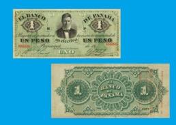PANAMA1  PESOS 1869  - Copy - Copy- Replica - REPRODUCTIONS - Panama