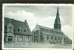 Kuurne  :   Kerk En Oud Gemeentehuis - Kuurne